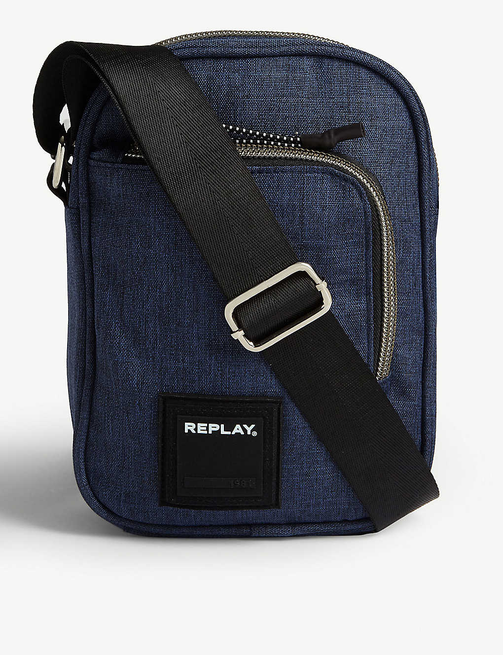 REPLAY: Denim-effect cross-body bag