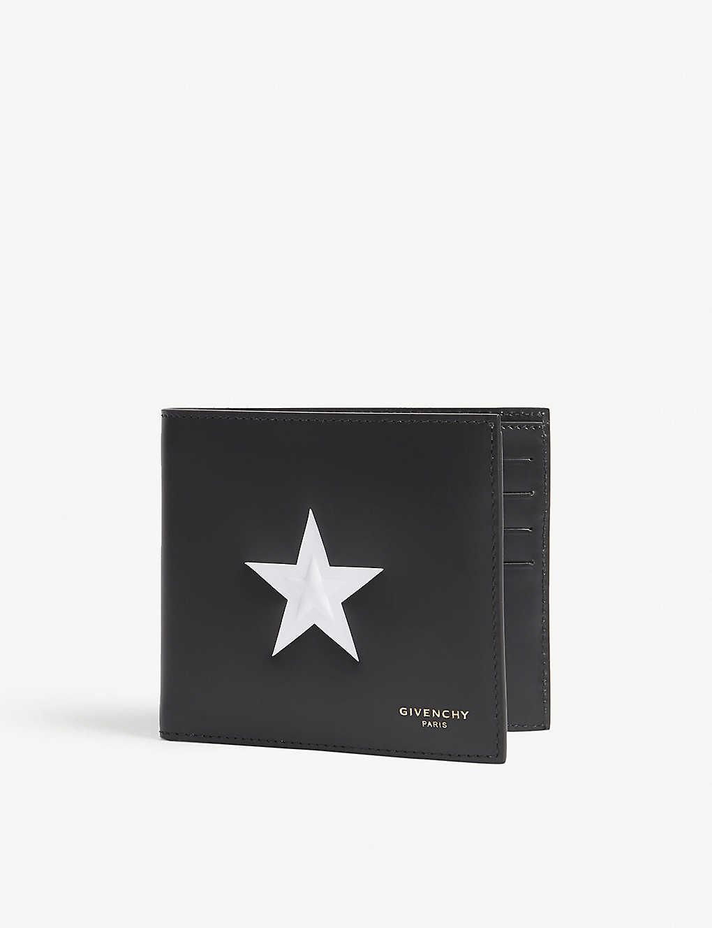 2f400e0a51 GIVENCHY - Star leather billfold wallet | Selfridges.com
