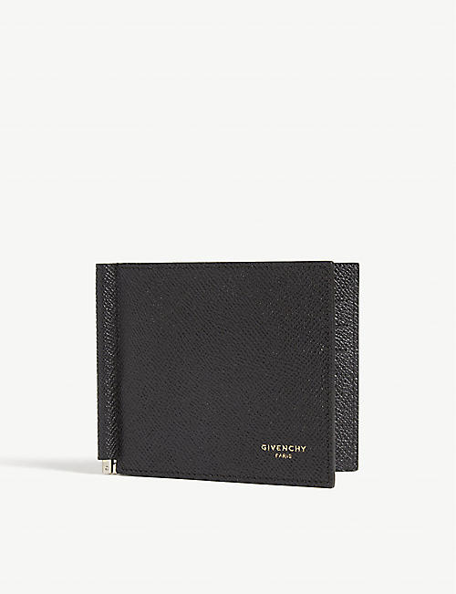 GIVENCHY Money clip leather wallet