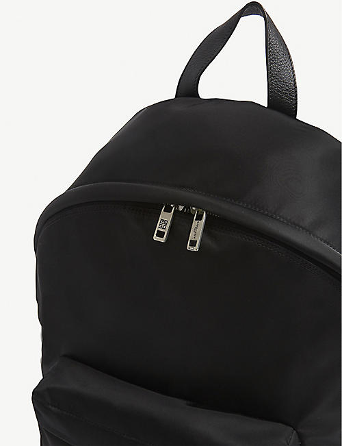 GIVENCHY Logo-print shell backpack