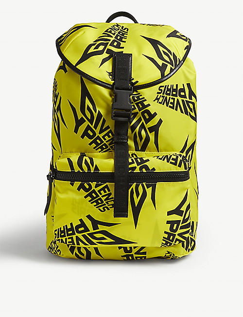 GIVENCHY Extreme print nylon backpack