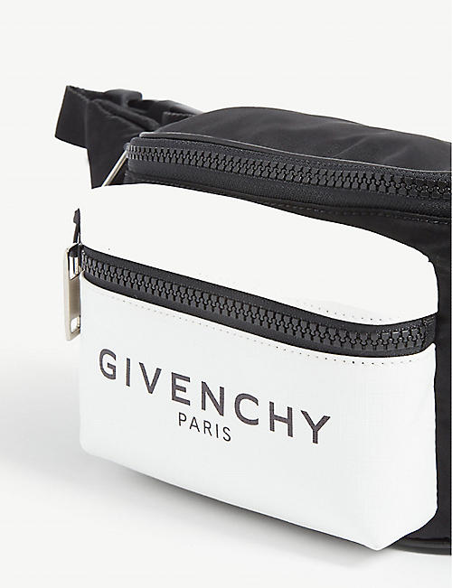 GIVENCHY Glow in the dark nylon bumbag