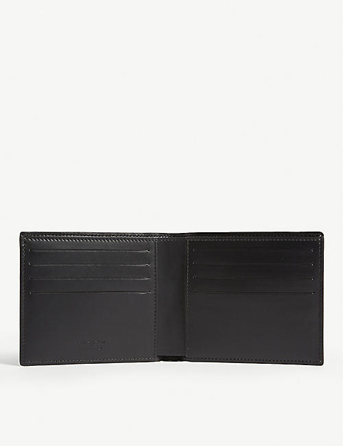 GIVENCHY Leo print billfold wallet