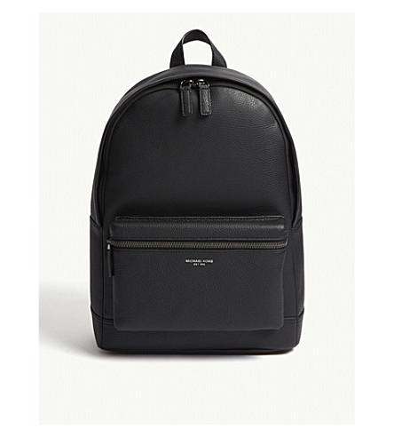 766c61908b MICHAEL KORS Bryant pebbled leather backpack (Black