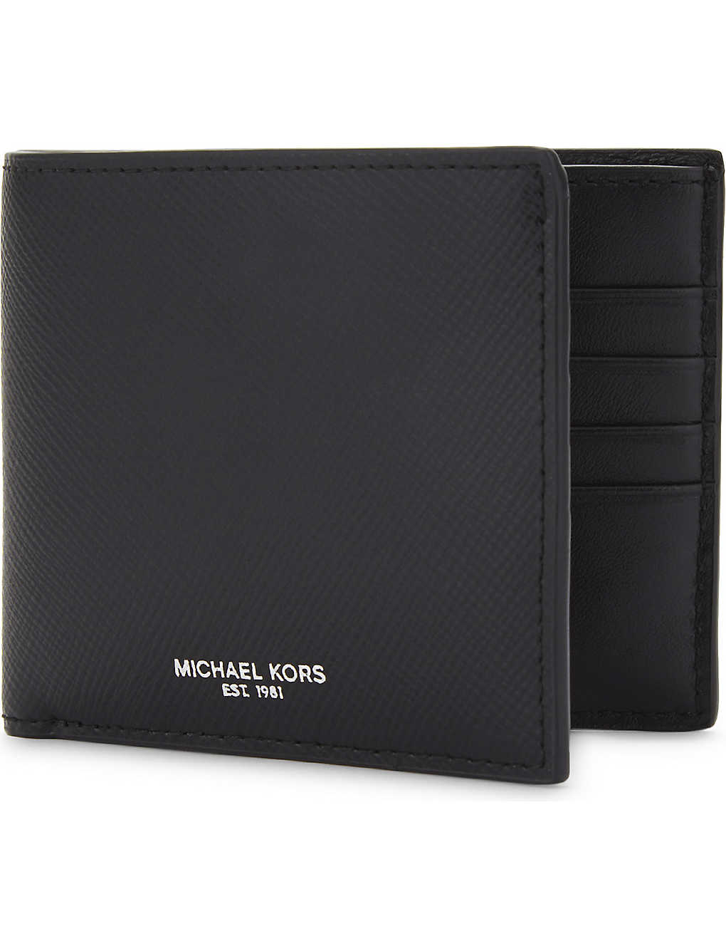 710ca1c4772d MICHAEL KORS - Harrison leather billfold wallet | Selfridges.com