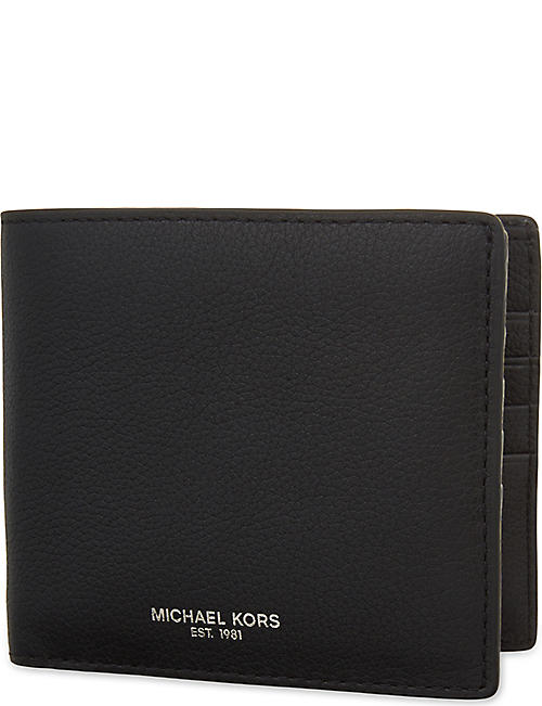 3703ec61813c MICHAEL KORS Bryant leather billfold wallet