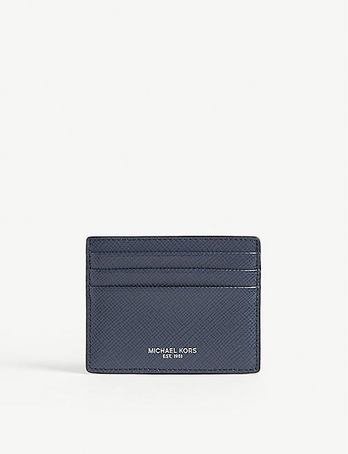 MICHAEL KORS Harrison leather card holder
