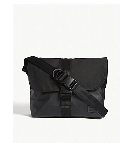 HERSCHEL SUPPLY CO Odell messenger bag (Black+black efbb2dfc892d7