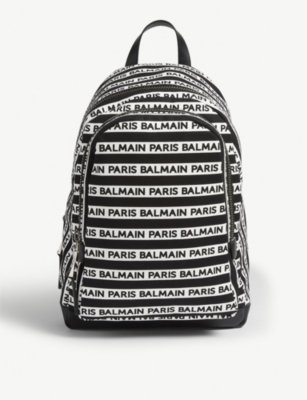 BALMAIN Branded backpack