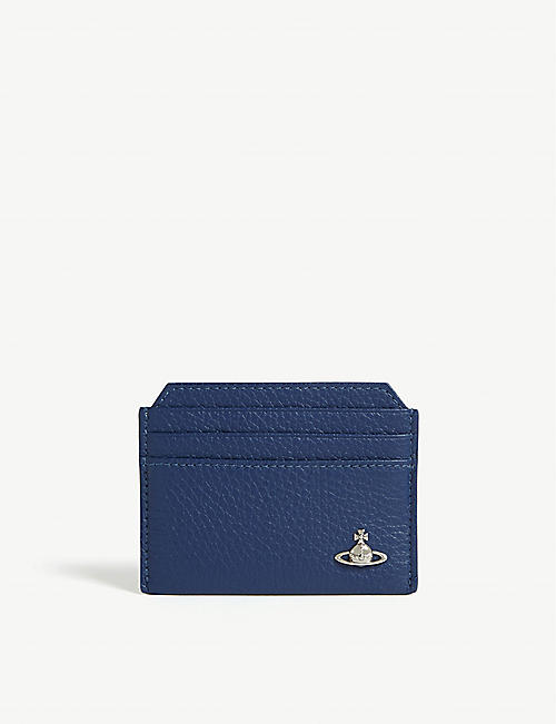 VIVIENNE WESTWOOD Milano grained leather card holder
