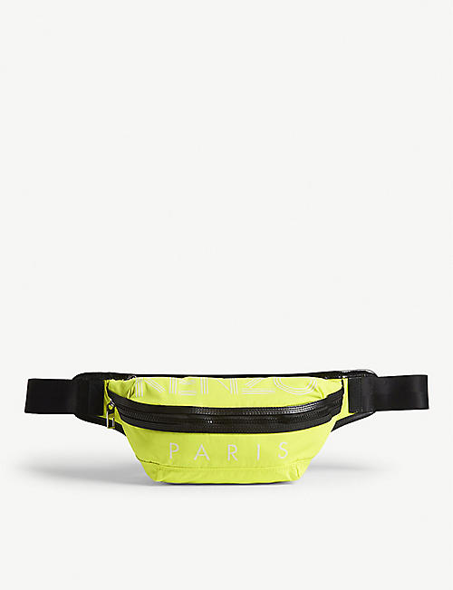 KENZO Banana nylon belt bag