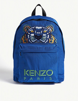 f672b3d3 KENZO - Tiger logo backpack | Selfridges.com