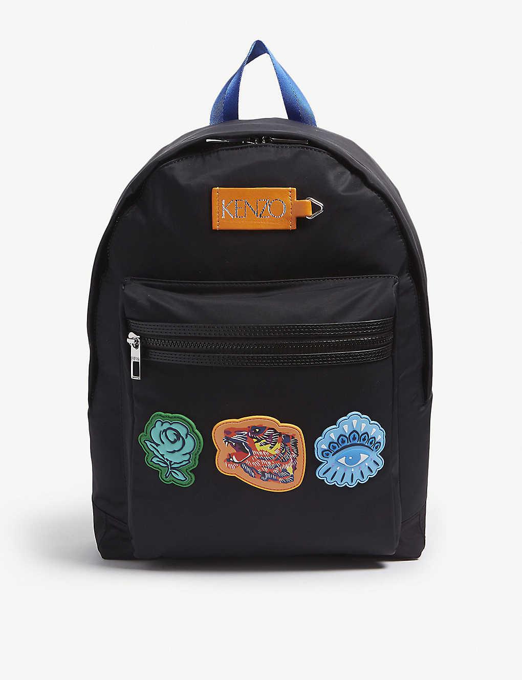 73fe66908 KENZO - Patch nylon backpack | Selfridges.com