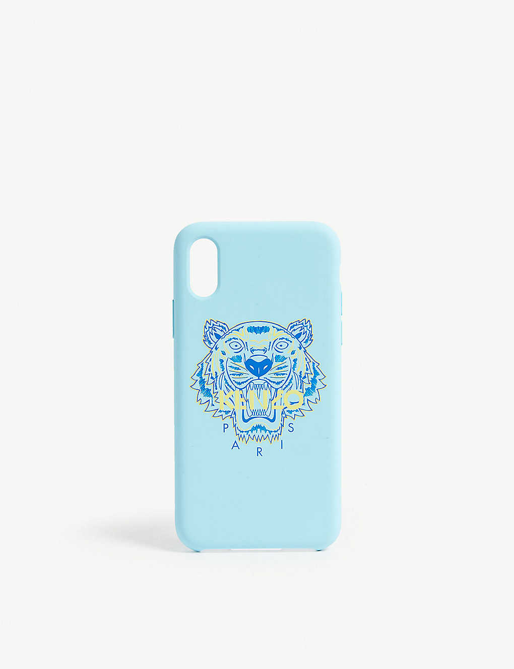 892a848e KENZO - Tiger logo silicone iPhone X case | Selfridges.com