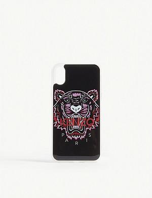 0ef9b826 KENZO - Tiger motif acrylic iPhone X case | Selfridges.com