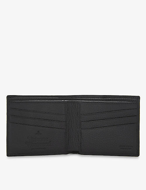 VIVIENNE WESTWOOD Milano grained leather billfold wallet