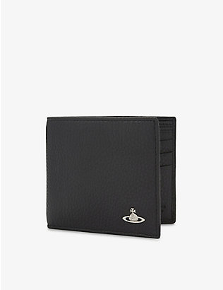 VIVIENNE WESTWOOD: Milano grained leather billfold wallet