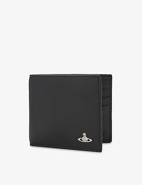 bb3406aa194 VIVIENNE WESTWOOD Milano grained leather billfold wallet