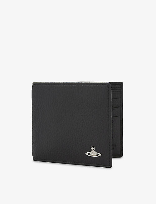 dfe5afd90438 VIVIENNE WESTWOOD Milano grained leather billfold wallet