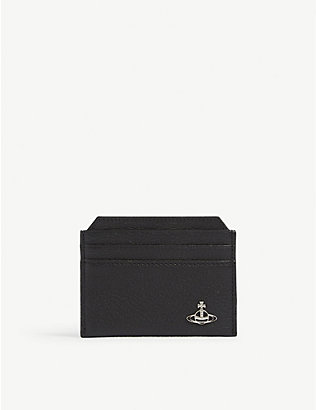 VIVIENNE WESTWOOD: Milano grained leather card holder