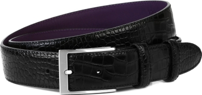 ELLIOT RHODES Bogart smart leather belt