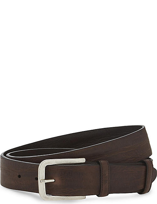 ELLIOT RHODES Casual leather belt