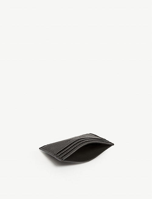 CALVIN KLEIN Essential leather card holder