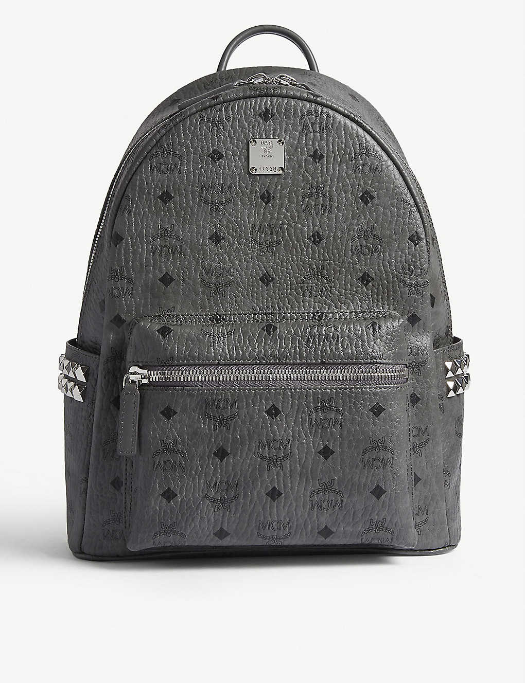 ae5e27dc0105 MCM - Stark side studs leather backpack | Selfridges.com