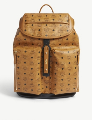 MCM Kreuzberg waterproof coated canvas backpack