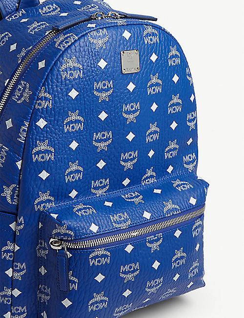 MCM Stark large canvas backpack