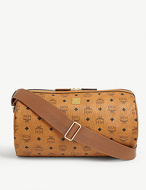 MCM Visetos print cross-body bag