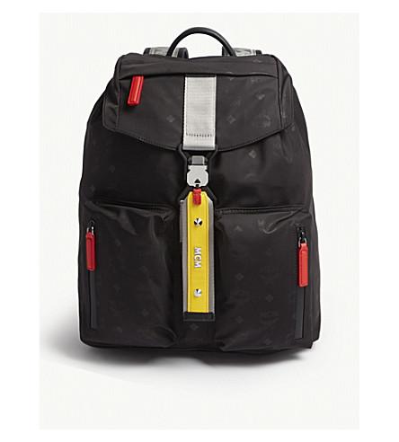 MCM - Resnick nylon backpack  c73aff8b74be4