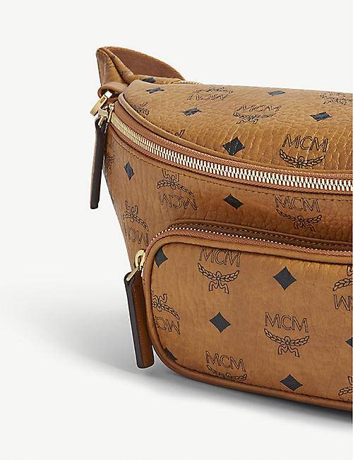MCM Visetos canvas bum bag