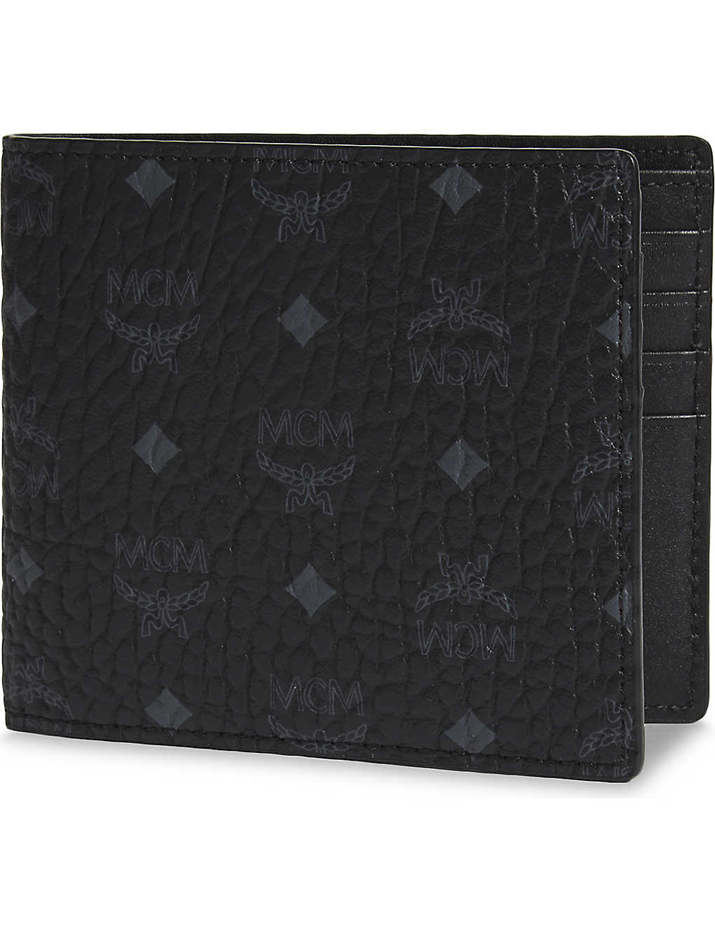 MCM: Visetos canvas billfold wallet