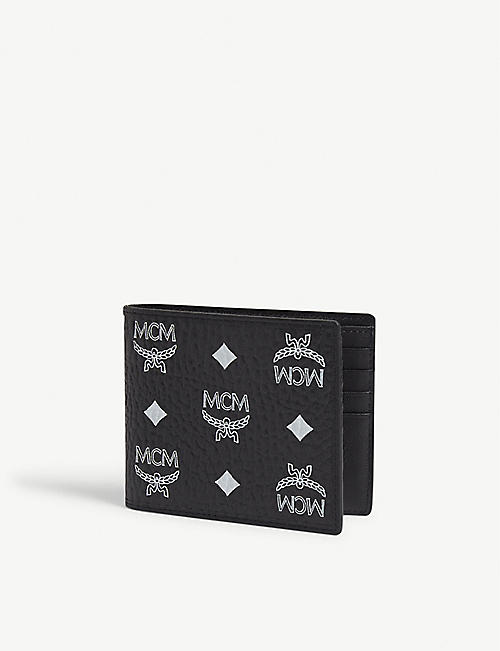 MCM Visetos canvas billfold wallet