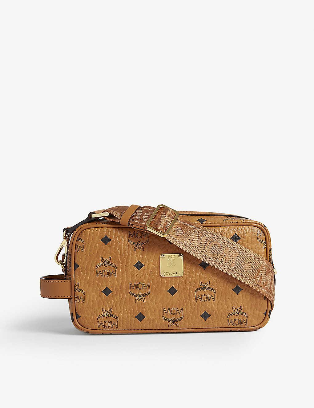 07a61baf1 MCM - Visetos coated canvas cross body bag | Selfridges.com