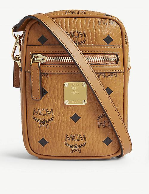 d578dae4d MCM Visetos coated canvas mini cross-body bag