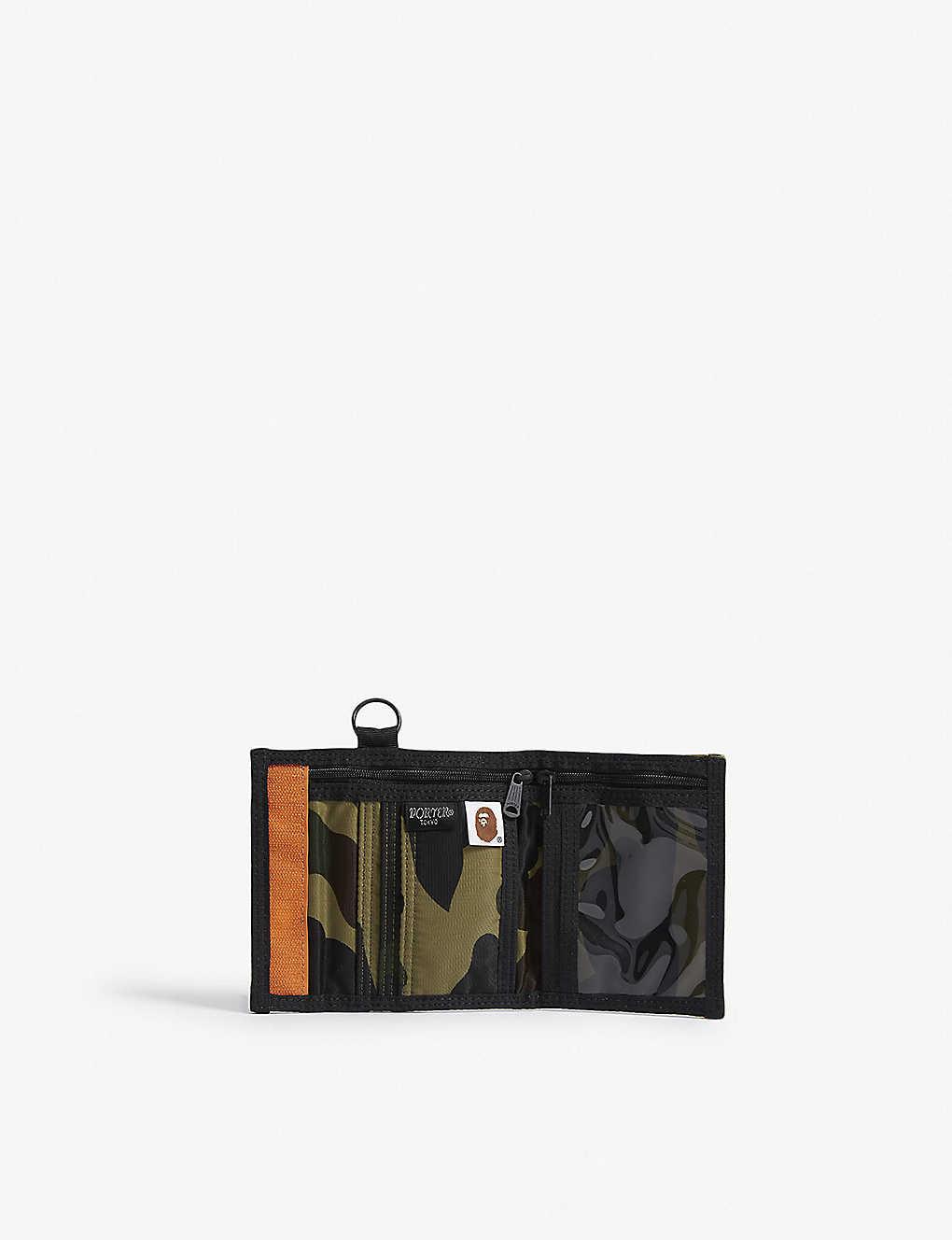 4f0f2536d3e A BATHING APE - Porter 1st Camo nylon wallet
