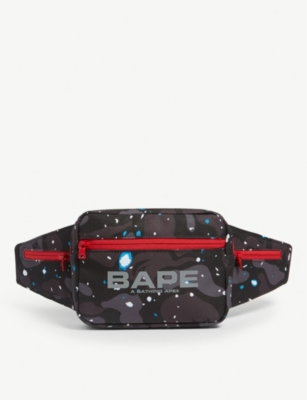A BATHING APE Space camouflage-print belt bag