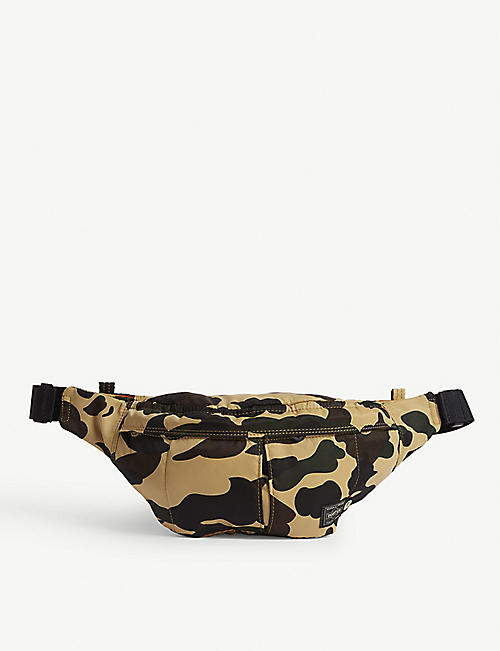686634c53ebf5 A BATHING APE Bape x Head Porter camouflage print belt bag