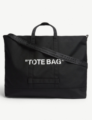 OFF-WHITE C/O VIRGIL ABLOH Quote tote bag