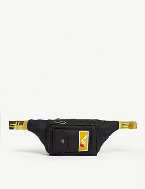 OFF-WHITE C/O VIRGIL ABLOH Mountain logo padded belt bag