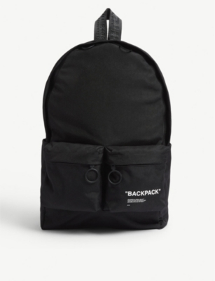 OFF-WHITE C/O VIRGIL ABLOH Quote backpack