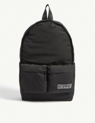 OFF-WHITE C/O VIRGIL ABLOH Logo-print shell backpack