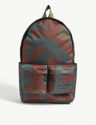 OFF-WHITE C/O VIRGIL ABLOH Camouflage-print backpack