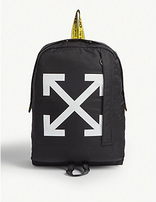 OFF-WHITE C/O VIRGIL ABLOH: Arrow motif backpack