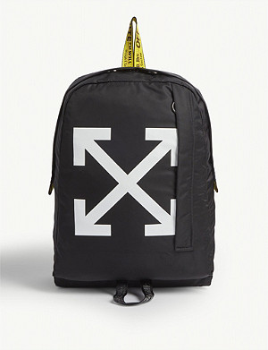 OFF-WHITE C/O VIRGIL ABLOH Arrow motif backpack