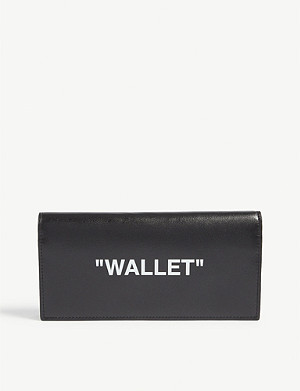 OFF-WHITE C/O VIRGIL ABLOH Yen leather wallet