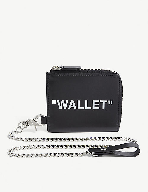 OFF-WHITE C/O VIRGIL ABLOH: Quote chain purse