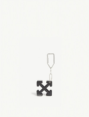 OFF-WHITE C/O VIRGIL ABLOH Arrow logo rubber keyring